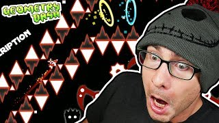 This creator took OVER 7000 ATTEMPTS to beat this challenge // Geometry Dash EVW Challenges