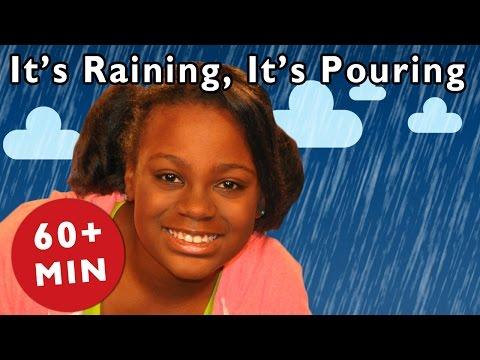 It's Raining, It's Pouring and More | Nursery Rhymes from Mother Goose Club!