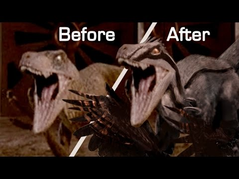 Velociraptor Makeover! Expert Dinosaur Artist Updates Jurassic Park Raptors