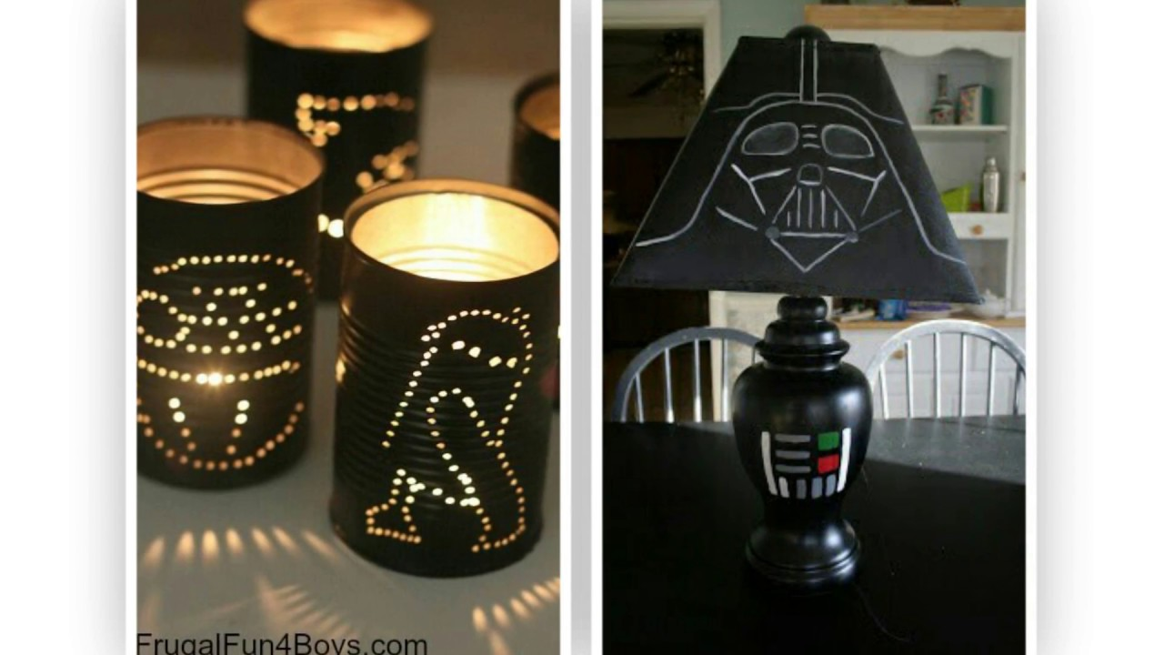 Easy diy star wars craft ideas youtube for Star wars arts and crafts