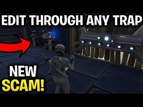 *NEW SCAM* Edit Through Any Traps SCAM! (Scammer Get Scammed) Fortnite Save The World