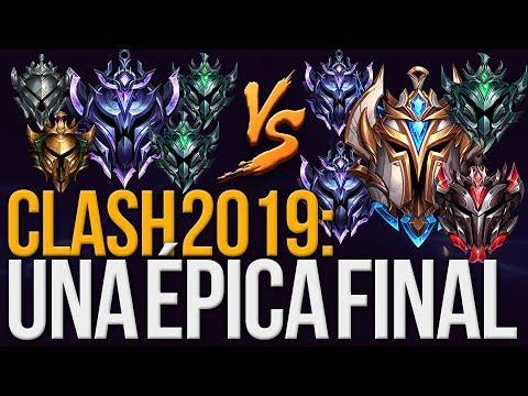 LA FINAL MÁS CARDÍACA DE CLASH 2019 😱 League of Legends thumbnail
