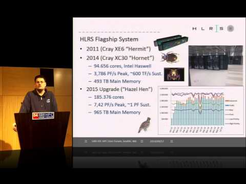 HPC at HLRS and in Germany