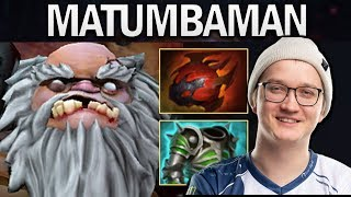 MATUMBAMAN PUDGE - SUPER TANK - DOTA 2 GAMEPLAY