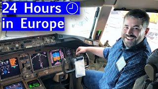 I Traveled Like a Pilot on a Long Haul Pilot Schedule