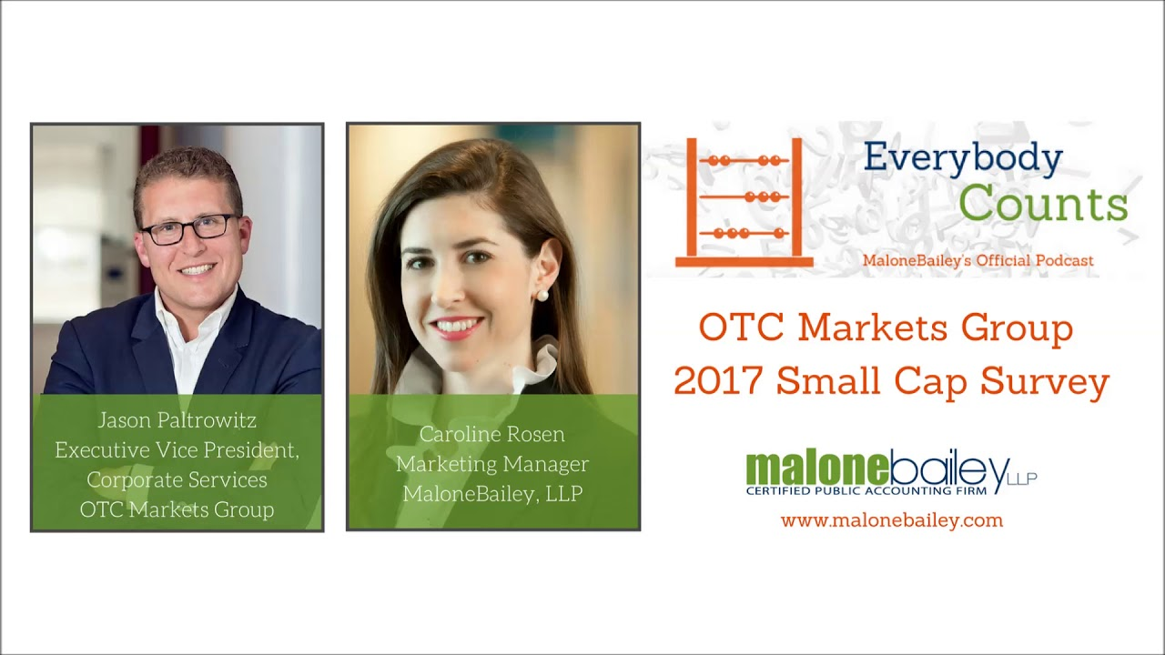 OTC Markets Group 2017 Small Cap Survey