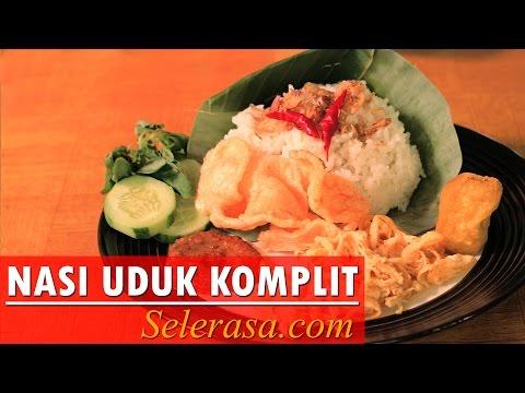 Resep dan Cara Membuat Nasi Uduk Komplit Gurih (Indonesia Recipe)