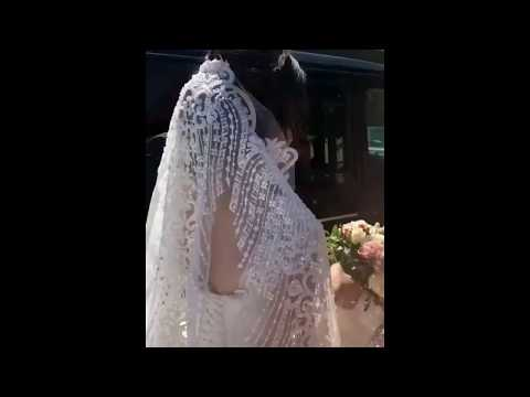 Невеста не может сесть в машину / Армянская свадьба в Ереване 2018