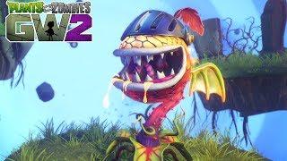 Plants vs. Zombies Garden Warfare 2 - Carnívora Flamejante Mestre
