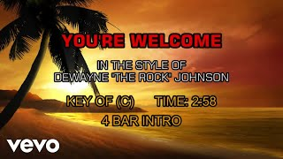 Dwayne Johnson You 39 re Welcome Karaoke.mp3