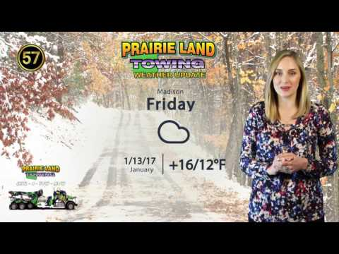 January 11, 2017 | Prairie Land Towing Weather Update