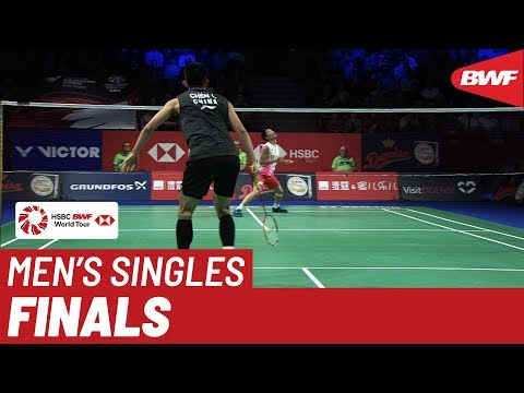 F | MS | Kento MOMOTA (JPN) [1] vs. CHEN Long (CHN) [5] | BWF 2019