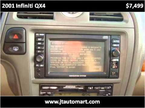 2001 infiniti qx4 used cars sanford nc youtube. Black Bedroom Furniture Sets. Home Design Ideas