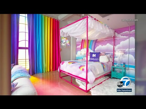 Theresa - Relive Your 90's Childhood in the Lisa Frank Hotel