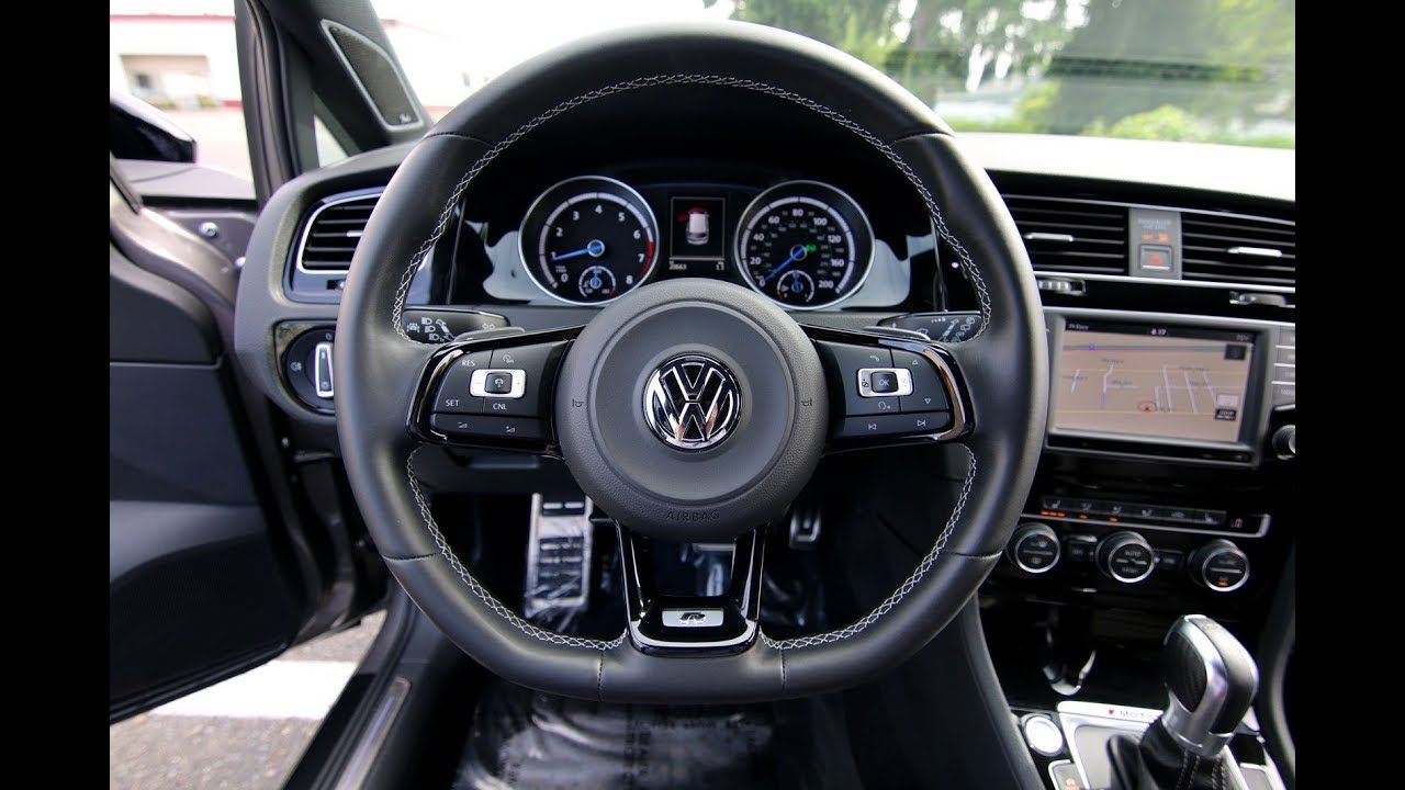 2016 Volkswagen Golf R AWD with DCC and Navigation - YouTube