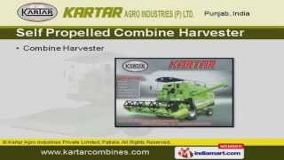 Combine Harvester by Kartar Agro Industries Private Limited, Patiala, Patiala