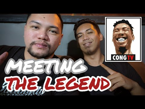 VLOG#8 - MEETING THE LEGEND | CONG TV X DAVE MARGA VLOGS