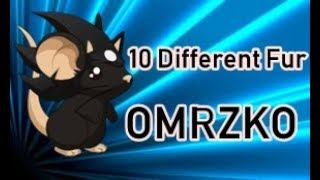 Transformice | Omrzko Playing With | 10 Different Fur !