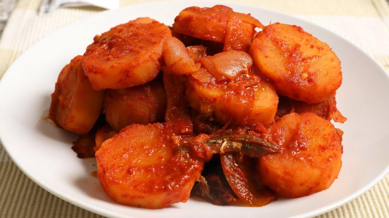 Korean Potato Salad Recipe Maangchi