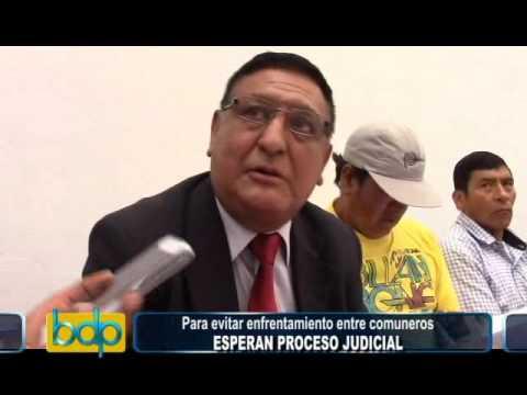 Pampas reclama usurpación de terrenos a Conchucos