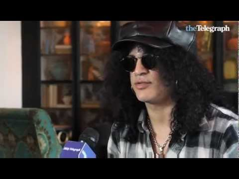 "Video  Slash in Sydney INTERVIEW  BY "" THE TELEGRAPH"""