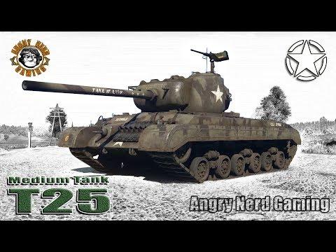 War Thunder: Medium Tank T25, American, Tier-4, Medium Tank