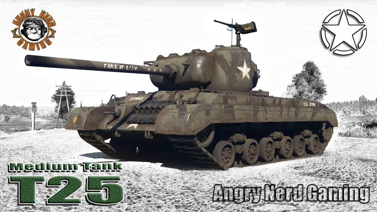 War Thunder: Medium Tank T25, American, Tier-4, Medium