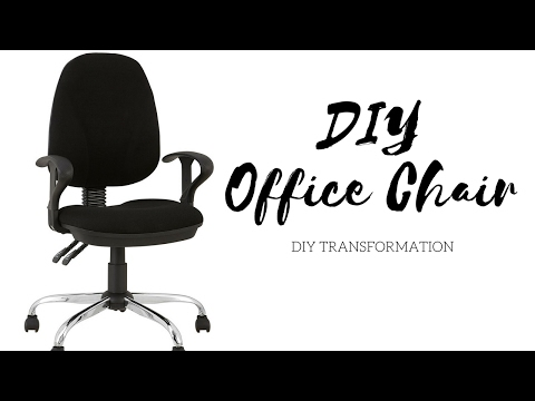 DIY Office Chair Revamp