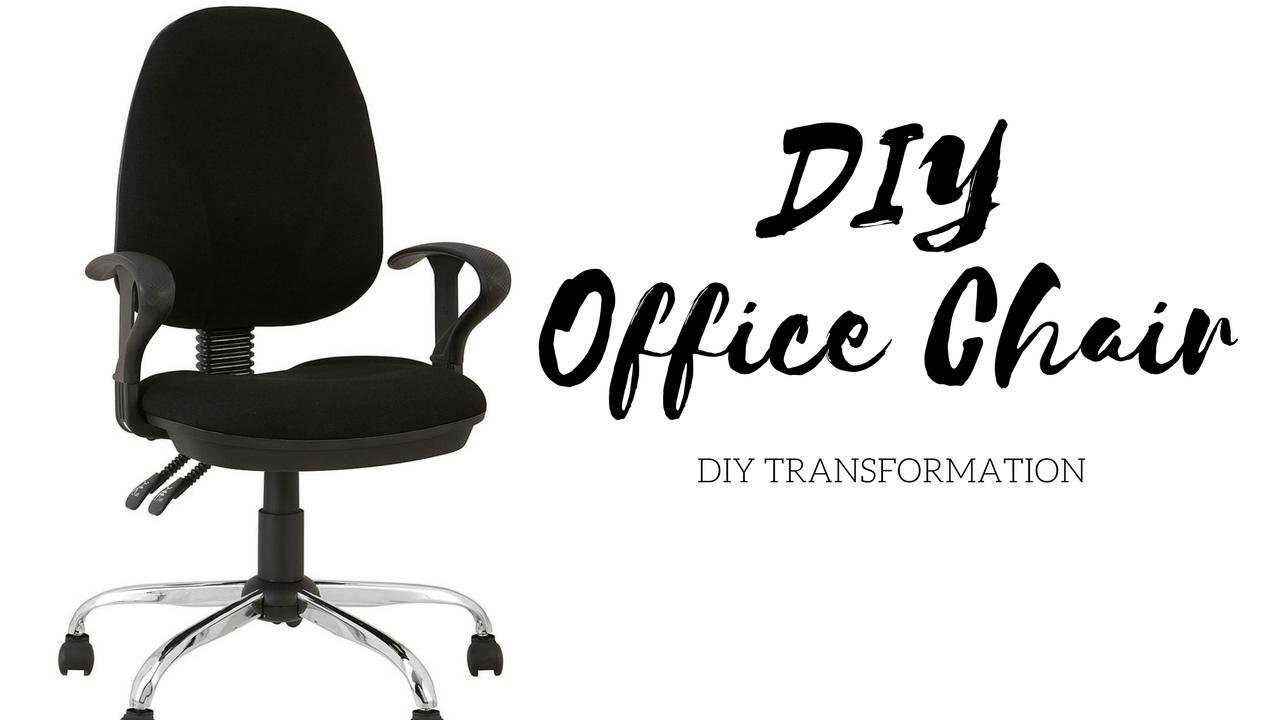DIY Office Chair Revamp - YouTube