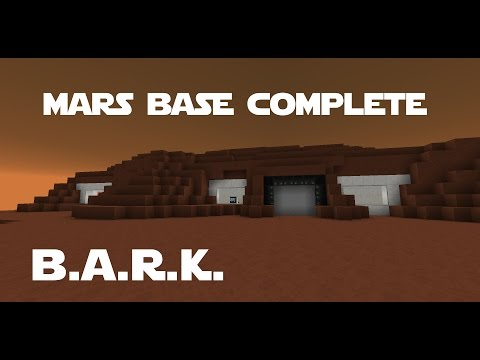 Modded Minecraft - B.A.R.K. 37 - Mars base completed. Let's take a Tour.