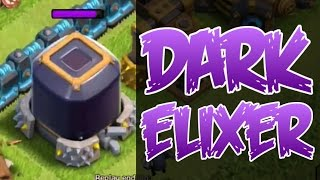CRAZY DARK ELIXER FARMING! - Clash of Clans - INSANE RAIDS!