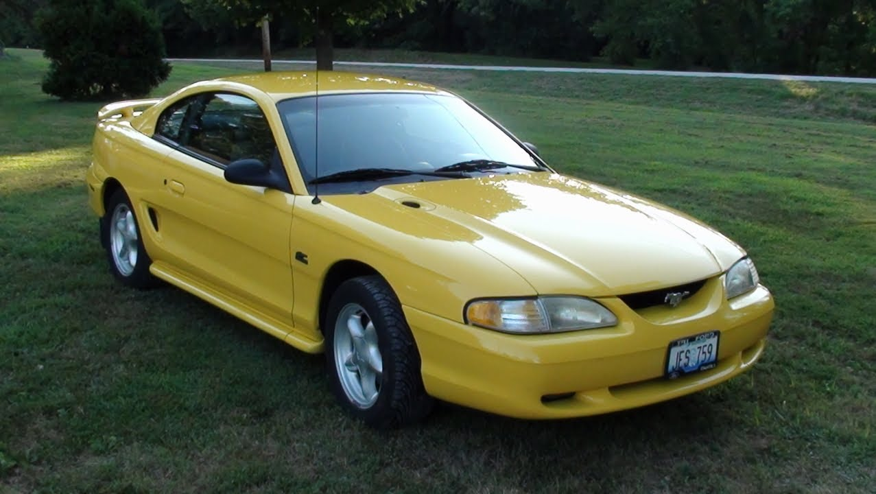 1995 ford mustang gt 24xxx original miles youtube