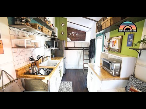 Couple In Their 30's Is Mortgage & Debt Free After Building Gorgeous DIY Tiny House