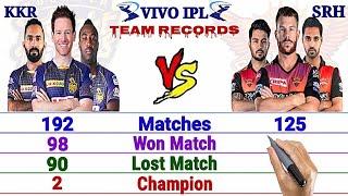 IPL 2021- SRH vs KKR Team Comparison || KKR vs SRH- Status, Head to Head, Playing 11 2021 and More