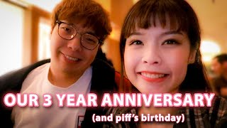 our 3 year anniversary at Cut by wolfgang puck beverly hills | woohu TV