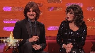 Michael Bublé Tries on a Joan Collins Dynasty Wig - The Graham Norton Show