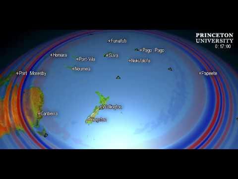Magnitude 5.4 Quake, KERMADEC ISLANDS, NEW ZEALAND