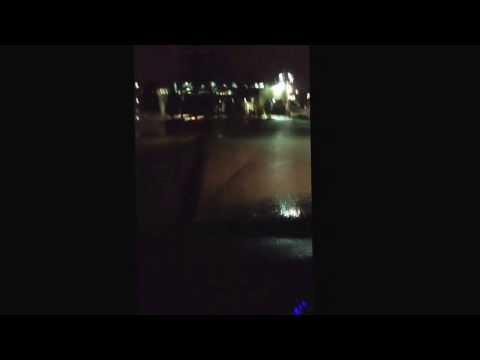 Christmas Lights On Bridges In Little Rock Arkansas. 2013