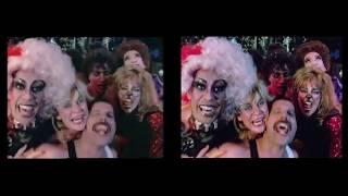 Freddie Mercury – Living On My Own – Video Comparison