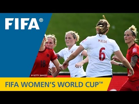 Women's World Cup TOP 10 GOALS: Maren MJELDE  (Germany v. Norway)