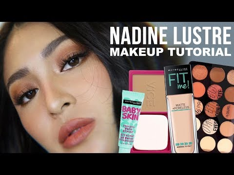AFFORDABLE NADINE LUSTRE SIMPLE AND FRESH MAKEUP TUTORIAL (BAGAY FOR WORK!!!) Kenny  Manalad thumbnail