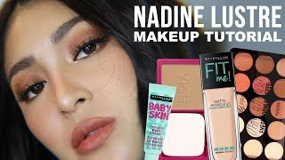 AFFORDABLE NADINE LUSTRE SIMPLE AND FRESH MAKEUP TUTORIAL (BAGAY FOR WORK!!!) Kenny  Manalad