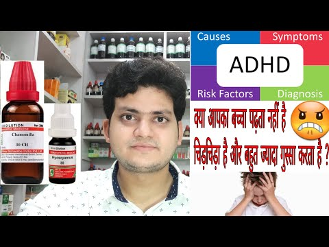 ADHD ! Homeopathic medicine for Attention deficit hyperactivity disorder ? Explain !
