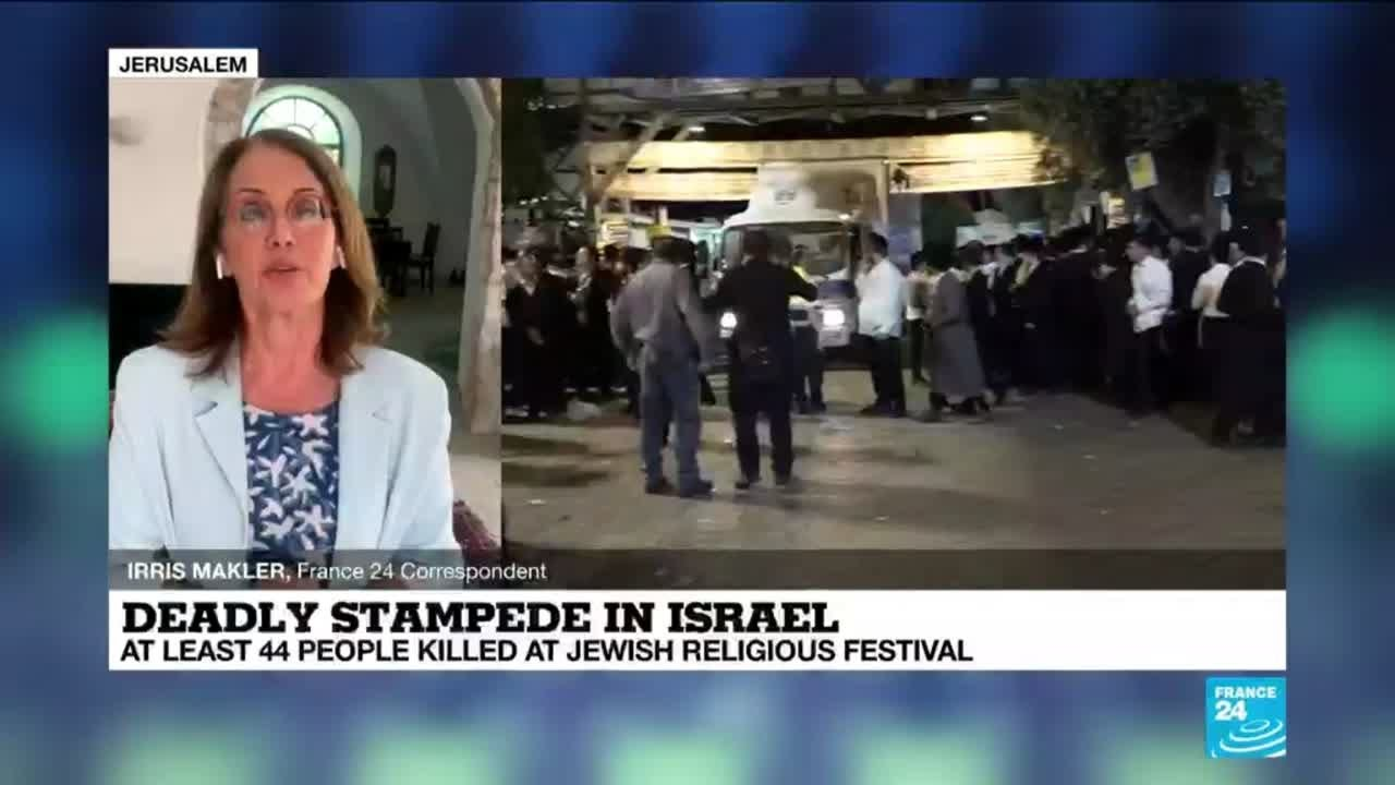 Religious festival stampede in Israel kills 44, hurts dozens