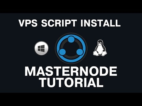 Masternode : Transfercoin (TX) INSTALL Masternode on a VPS (with script) faster than previous videos