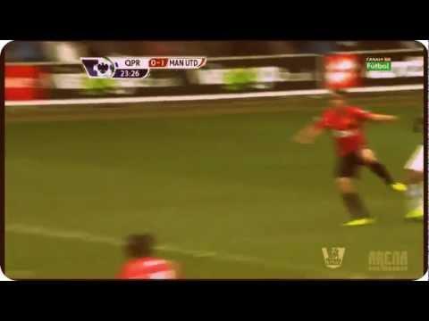 Rafael Goal Vs. QPR - Manchester United 0-1 Full HD