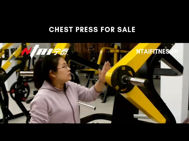 Chest Press Machines - Bench Press Machines