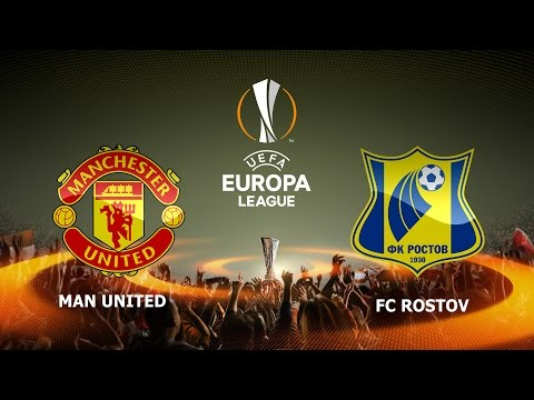 Manchester United Vs Rostov | UEFA Europa League, Round of 16 Second-leg | FIFA 17 | Full Gameplay