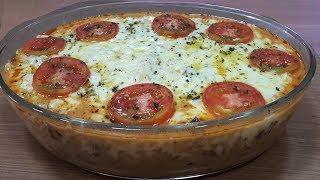 Macarrão Pizza de Microondas Pronto em apenas 8 minutos