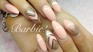 ♡ How To: Barbie Gelnails